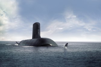 The next two years of the future submarines program will be locked in next week.