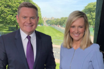 Seven's coverage of the royal wedding, led by Michael Usher and Melissa Doyle, won the ratings battle.