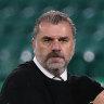 'It saddens me': Postecoglou denounces abuse of Celtic's Japanese hero