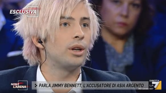 Jimmy Bennett gives first TV interview since Asia Argento allegations