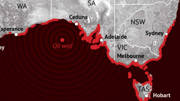 'Catastrophe': Bight oil spill could reach NSW coast, leaked report shows