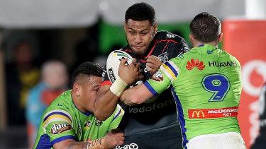 Josh Papalii and Josh Hodgson leading the way in defence.