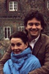 Hepburn with son Sean Ferrer in 1993.