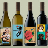 Get a message or picture print on to Fowles bottles.