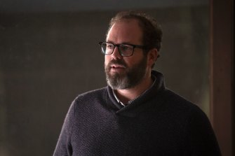 How far did Frank (David Denman) go in reaching out to his former student?