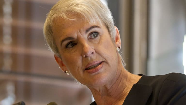 "Businesswoman Diane Smith-Gander called on the Premier to ""point out the inappropriateness"" of Alan Jones' behaviour."