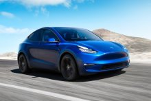 """""""I don't have much negative to say,"""" Sandy Munro said about Tesla's new Model Y, pictured."""