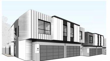 Brisbane City Council rejects 'cookie cutter' 16-townhouse development