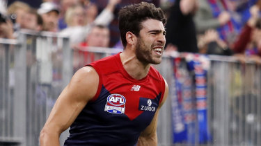 Christian Petracca was dominant in his Norm Smith Medal-winning performance.
