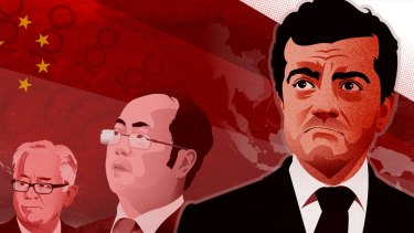 Mr Huang was tipped off by Mr Dastyari in 2015.