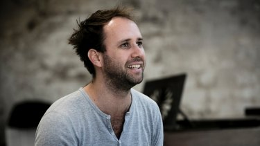 Belvoir artistic director Eamon Flack is committed to developing young artists and writers.