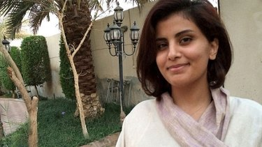 Loujain al-Hathloul, who remains imprisoned despite the ban on women drivers in Saudi Arabia having been lifted.