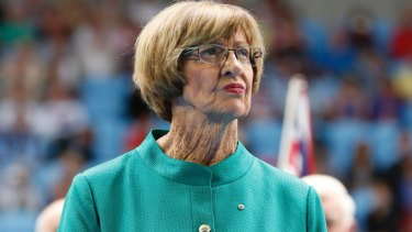 Tennis champion Margaret Court was a vocal campaigner against the legalisation of same-sex marriage.