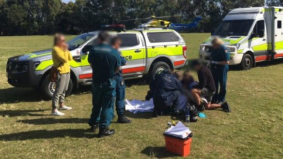 Sunshine Coast schoolboy suffers 'serious eye injury' in javelin mishap