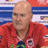 McGregor fears de Belin's career 'over' without court win