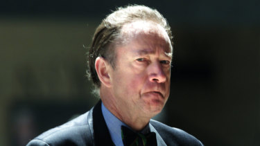 Bill Davison was banned from practising law in 2001 after he was bankrupted with tax debt of $1.9 million.
