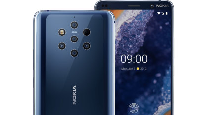Nokia's ambitious five-camera smartphone is a beautiful mess