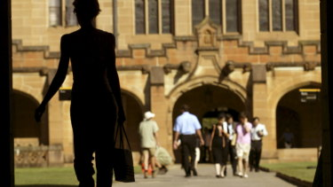 Sydney University has been asked to plan how it would teach remotely if its campus is shut down.