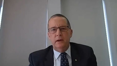 Chris Eccles, secretary to the  Department of Premier and Cabinet, gave evidence to the inquiry on Monday.