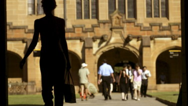 The share of 22-year-olds who have gone to uni has risen 7 percentage points.