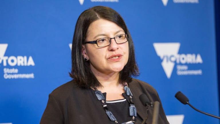Youth Affairs Minister Jenny Mikakos.