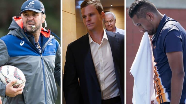 Fair call? Chris Rattue sledged Michael Cheika, the cricket team and Nick Kyrgios among others.