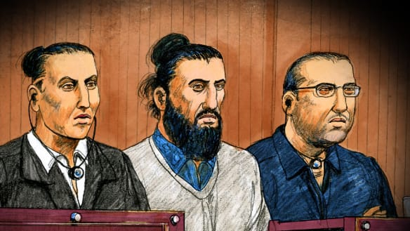 Three men guilty of plotting to rain Christmas Day terror on Melbourne