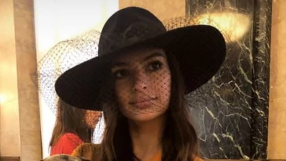 There's a reason Emily Ratajkowski's wedding looks familiar