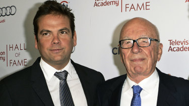 Lachlan and Rupert  Murdoch are asteering Fox in a new direction.