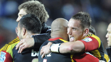 Homecoming: Aaron Cruden is returning to the Chiefs for a one-season cameo.