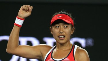 Zhang Shuai of China is ranked 35 in the world.