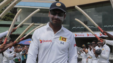 Kumar Sangakkara has made an emotional post about the bombings in his homeland.