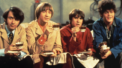 Hey hey we're the Monkees: 'champagne is as rock and rolly as we get now':