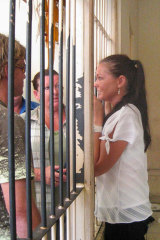 Rosleigh Rose visits Schapelle Corby behind bars in 2005.