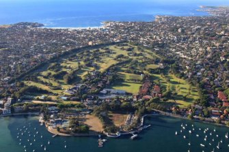 The Royal Sydney course in Rose Bay is the city's most prestigious and privately held golf club.