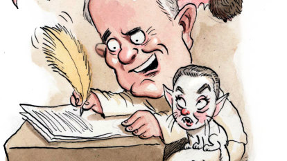 Pyning for Malcolm's page turner