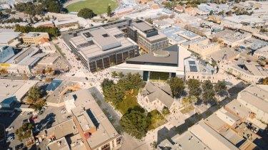 Artist impression of Fremante's Kings Square development.