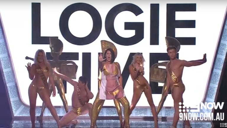 Morris' #MeToo reference at the Logies irked some viewers.