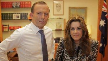 Guest speakers: Peta Credlin and former PM Tony Abbott.