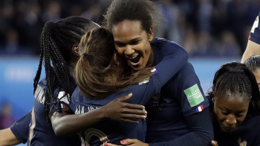 Wendie Renard had two chances to score from the spot and converted the second opportunity.