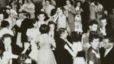 The ballroom in full swing in the 1950s.