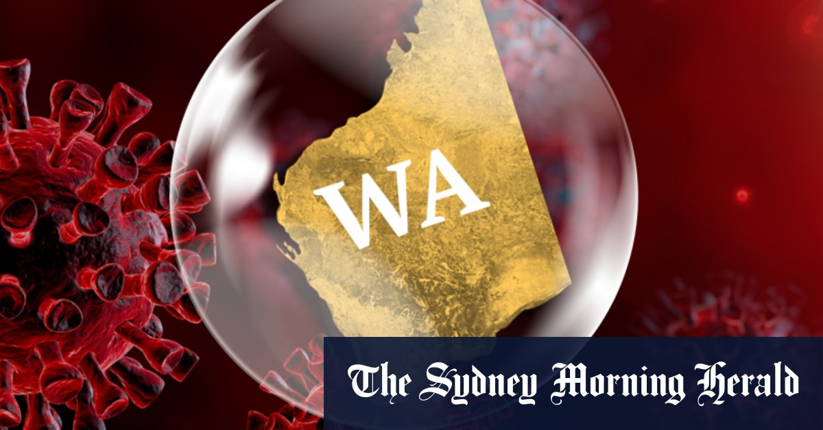 WA border with Victoria softened after another day of no community cases – Sydney Morning Herald