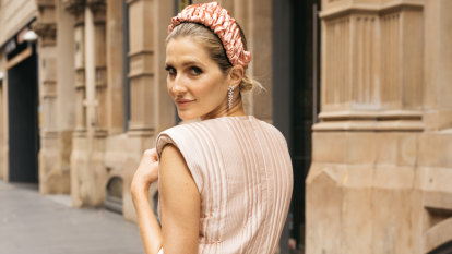 Kate Waterhouse honed her race-day style from her mother's wardrobe