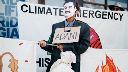 Anti-Adani action described as 'most dangerous' protest yet