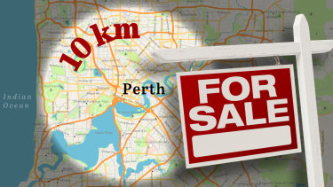 The suburbs within 10km of Perth's CBD with the best value land sales have been revealed.