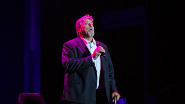 Philip Quast in his performance at the Seymour Centre.