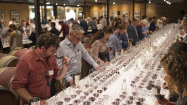 The annual Cape Mentelle tasting of 20 wines is a celebration of the world's finest cabernet sauvignon blends.