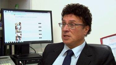 The former senior Victorian Education Department official, Nino Napoli.