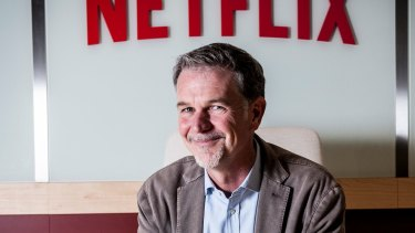 Netflix chief executive Reed Hastings is confident in his company's long-term outlook.