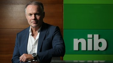 NIB chief executive Mark Fitzgibbon.